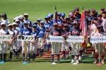 JFEちばまつり軟式少年野球大会開会式!